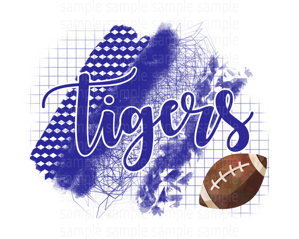 (Instant Print) Digital Download - Tigers, if you need another team or color let me know
