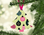 Sublimation print ONLY - Bulb Christmas Tree - Made for our MDF sublimation