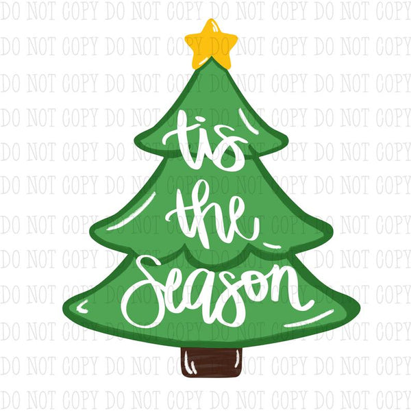 Sublimation print ONLY - Tis the season Tree - Made for our MDF sublimation