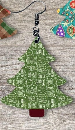 Sublimation print ONLY - Cheer joy Christmas Tree - Made for our MDF sublimation