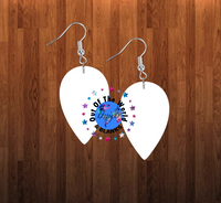 Upside down drop earrings size 2 inch - BULK PURCHASE 10pair