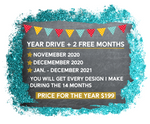 This is the Digital Design Drive Access 2021+ 2 free months of 2020