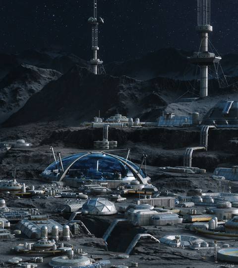 Lunar Base: Behind the Render
