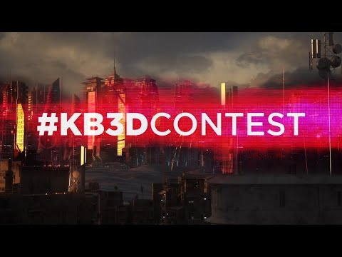 The Cyberpunk #KB3Dcontest Winners & Finalists!