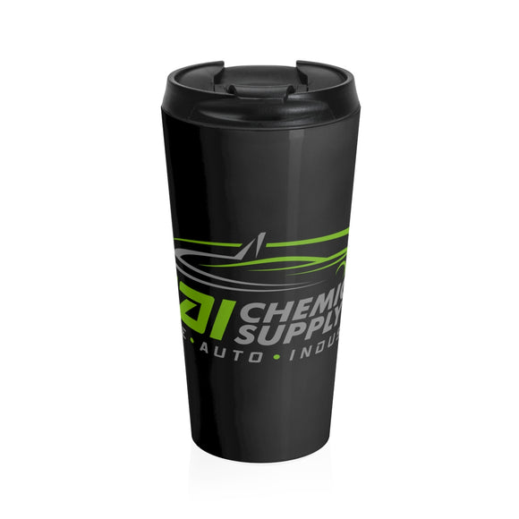 Stainless Steel Travel Mug Black