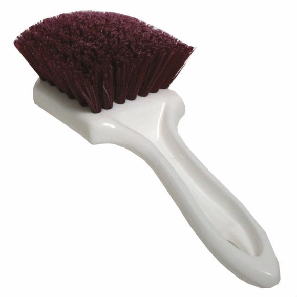 Burgundy Bristle Carpet Brush