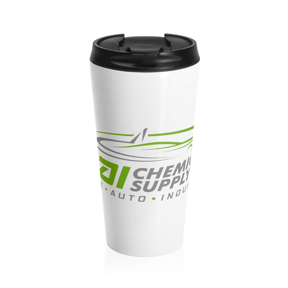 Stainless Steel Travel Mug White