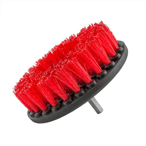 Scrub Brush (Red) Stiffer Bristles