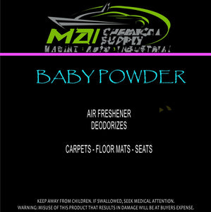 Water Based Air Freshener (Baby Powder)