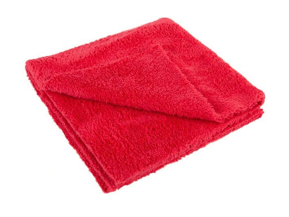 16×16 Laser Cut Edgeless Towel Red