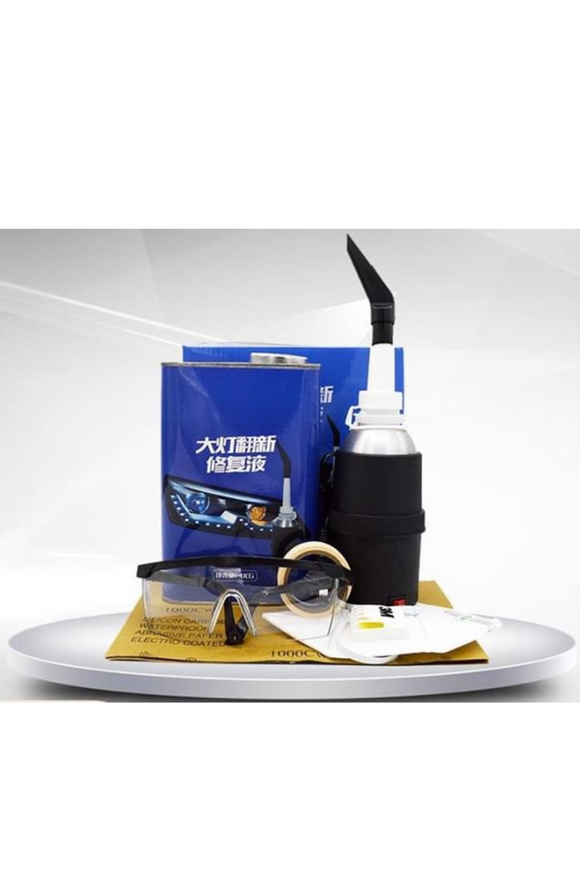 Headlight Restore Solution for Steam Pot System