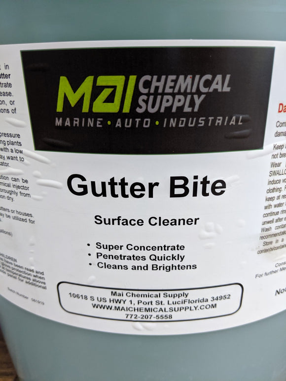 1 Gal GUTTER BITE (Super Concentrate)