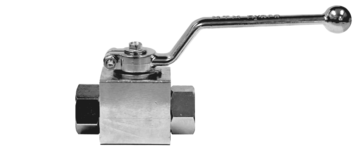 7,000 PSI PLATED STEEL BALL VALVE
