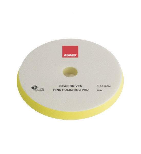 RUPES Mille Yellow Fine Foam Pad - 6.5