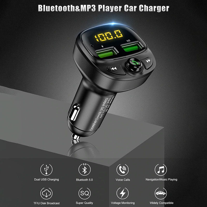 Bluetooth Fast Car Charger - Bevaria