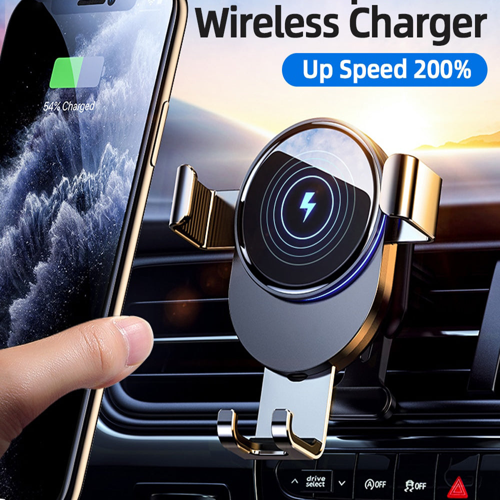 Haka - Wireless Car Phone Holder And Charger Pad - Bevaria