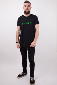 VEGANIZE IT X BLACK T-SHIRT