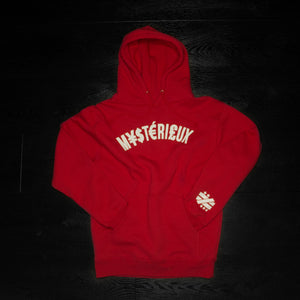 """Currency"" Red Hoody - Mystérieux Brand"