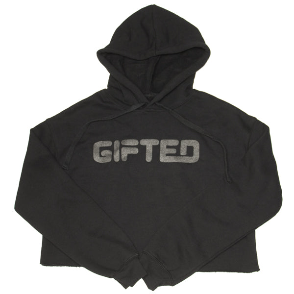 """Gifted 95"" Crop Top Hoodies - Mystérieux Brand"