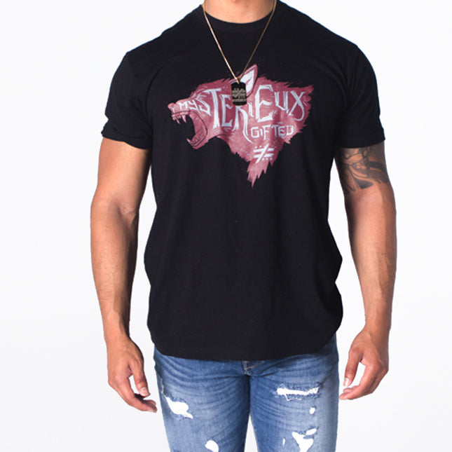 """The Calling"" Black/Maroon/Light Gray - Mystérieux Brand"