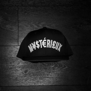 """Currency"" Black/White Snapback - Mystérieux Brand"