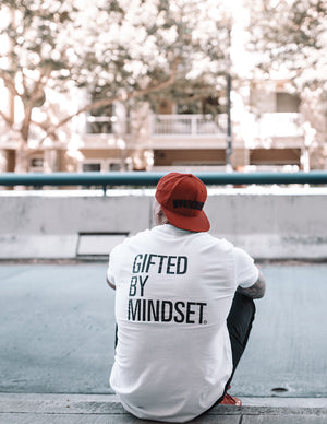 """Gifted By Mindset Tee - Mystérieux Brand"