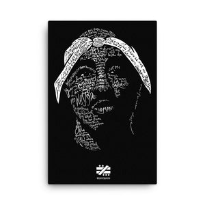 Tupac - California Love Canvas - Mystérieux Brand