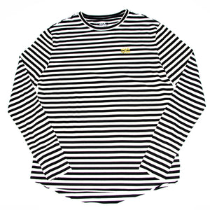 """Not Equal Imprint"" Long Sleeve Stripes - Mystérieux Brand"