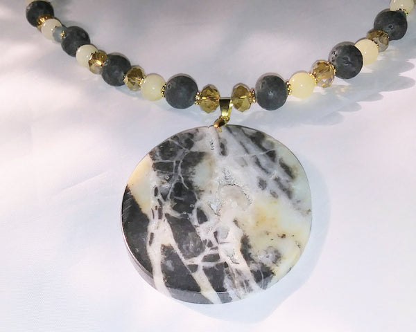 Amazonite Necklace - WATERBURY JEWELS