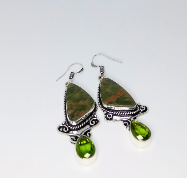 Unikite Earrings #2 - WATERBURY JEWELS