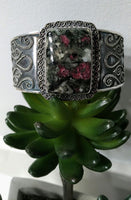 EUDIALYTE STONE CUFF BRACELET - WATERBURY JEWELS
