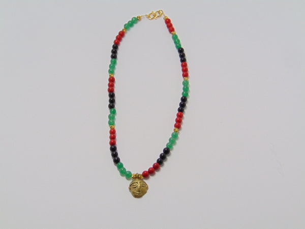 Ghanian Pendant Necklace - WATERBURY JEWELS