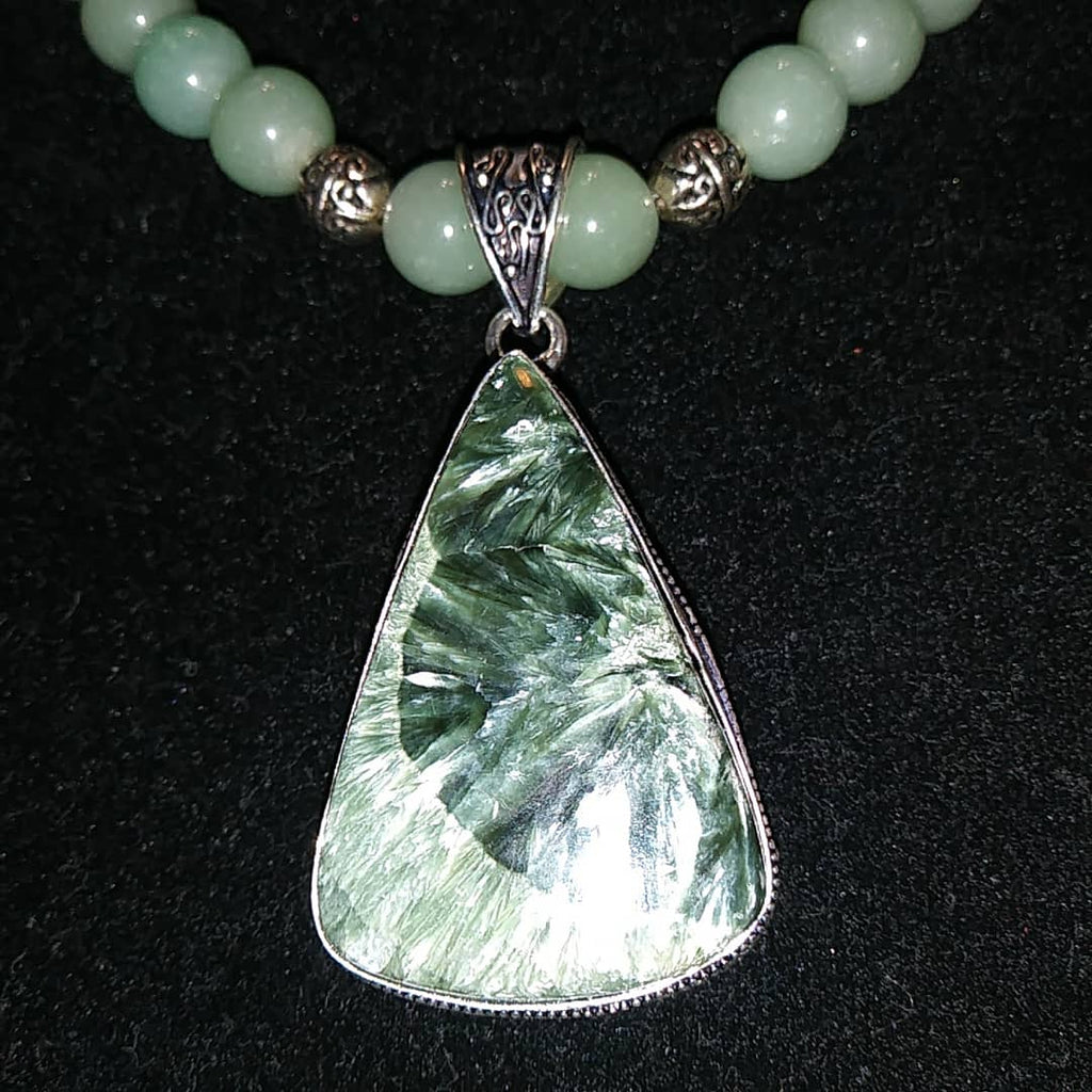 Seraphinite Necklace - WATERBURY JEWELS