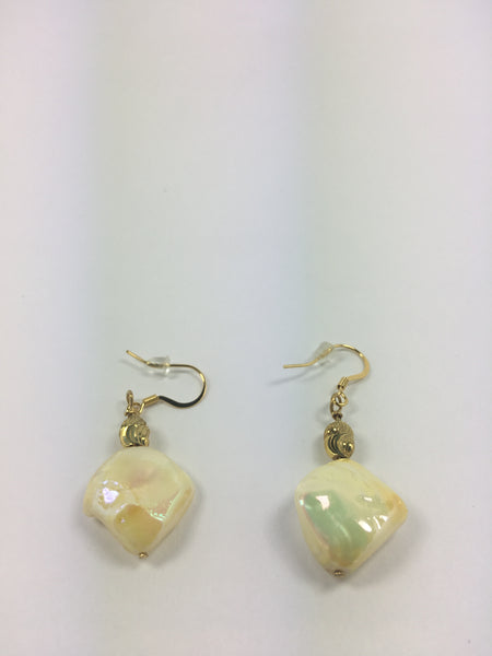 Mother of Pearl Earrings # 5 - WATERBURY JEWELS