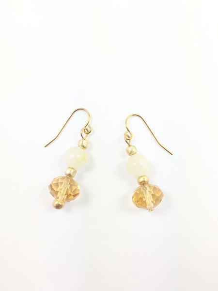 Crystal &  Calcite Earrings - WATERBURY JEWELS