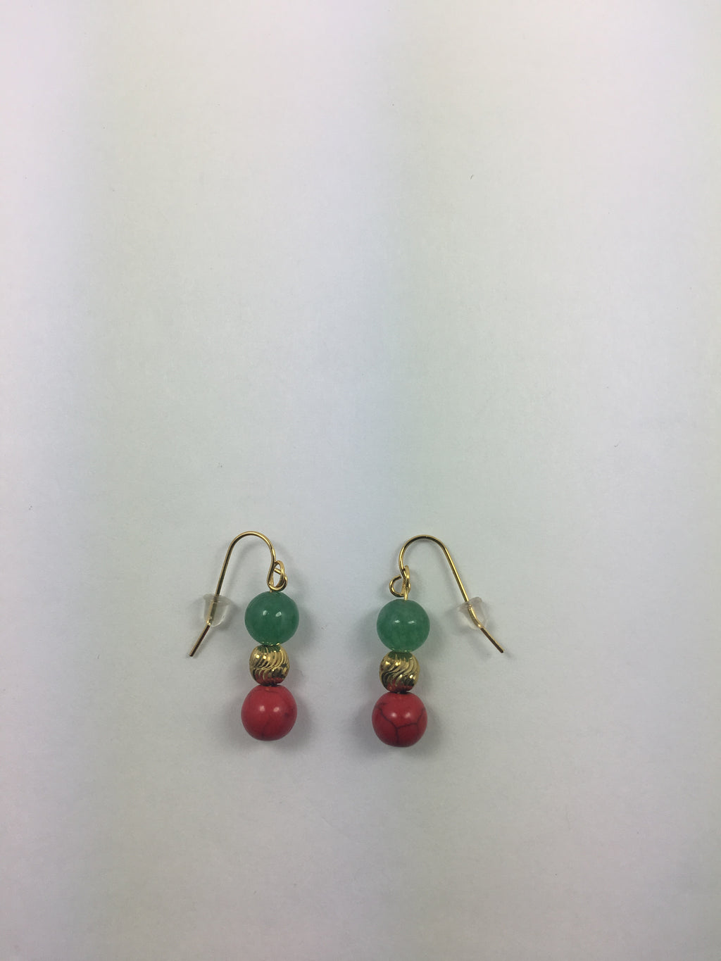 RED/BLACK/GREEN Earrings - WATERBURY JEWELS