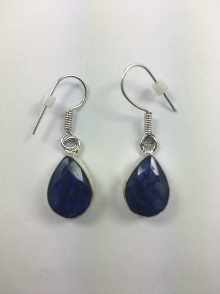 Amethyst Drop Earrings Product 2 - WATERBURY JEWELS