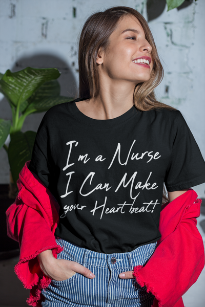 I'm a nurse I can my your heartbeat