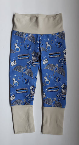 Grow-With-Me Leggings - Ravenclaw