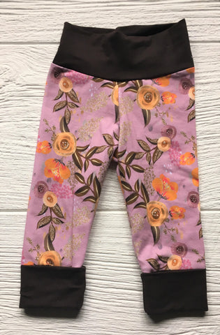 Grow-With-Me Leggings - Floral