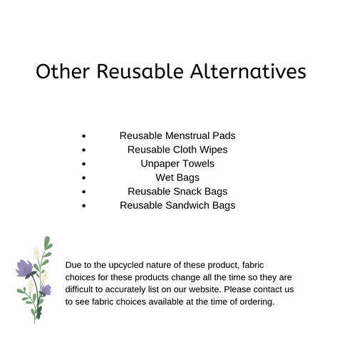 Other Reusable Alternatives