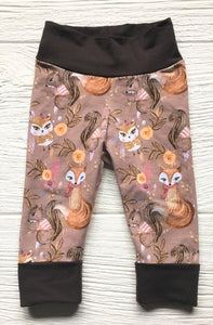 Grow-With-Me Leggings - Woodland