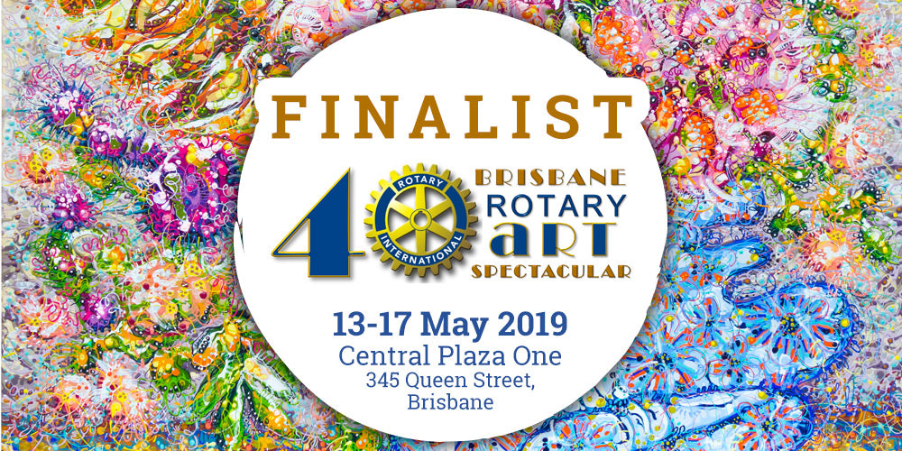 Finalist in the 2019 Brisbane Rotary Art Spectacular for the second year!