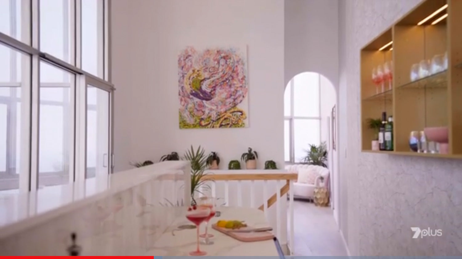 Tina Dinte Artwork as seen on House Rules 2020