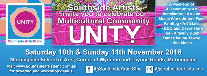 UNITY PROJECT - Art Stall – Tina Dinte Artist & Designer