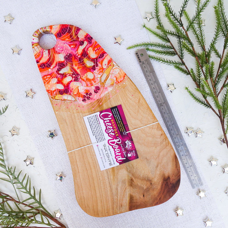 Pinks Orange Warmth Cheese Board