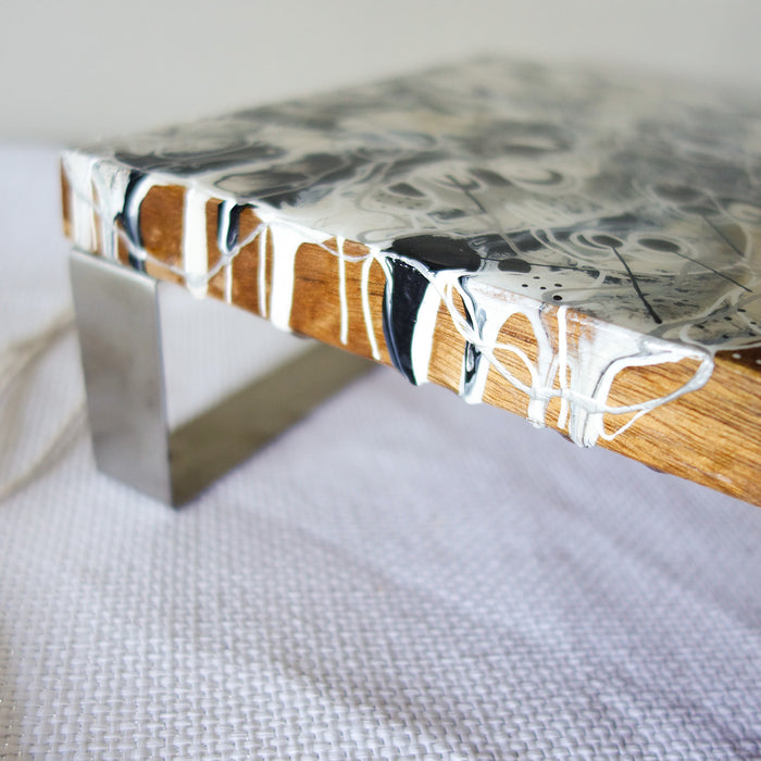Pearly Ink Cheese Board/Table Centrepiece