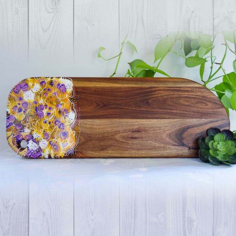Lavender Pop Cheese Board