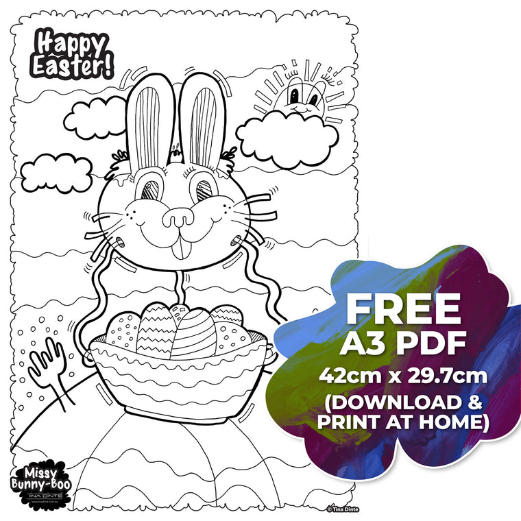 "Miss Bunny-Boo ""FREE"" Digital Download"