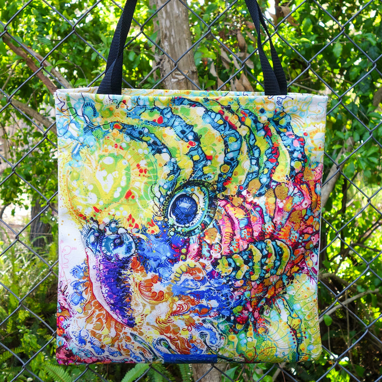 Billy the Budgie Tote Bag